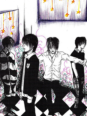 Art-of-Divya-Suvarna_Music-inspired_J-rock_Visual-kei_Japan_Plastic-Tree-fanart