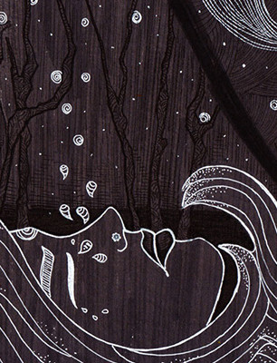 Art-of-Divya-Suvarna_Ink-Paint_Traditional_Art_Darkness-and-Divinity_featured