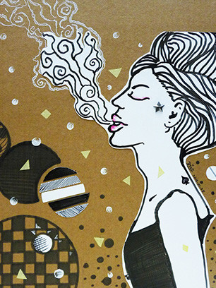 Art-of-Divya-Suvarna_Ink-Paint_Traditional_Art_Toxic-femme_featured
