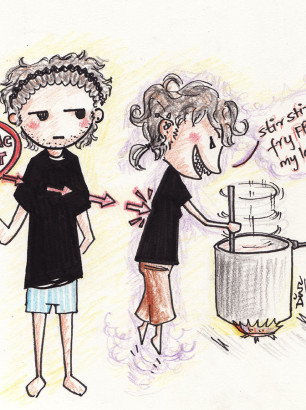 Art-of-Divya-Suvarna_Self-portrait_Chibi_Stir Fry Comic