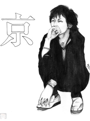 Art-of-Divya-Suvarna_j-rock-portrait-art_Kyo_lost-in-translation_Dir-en-Grey-Kyo-fanart
